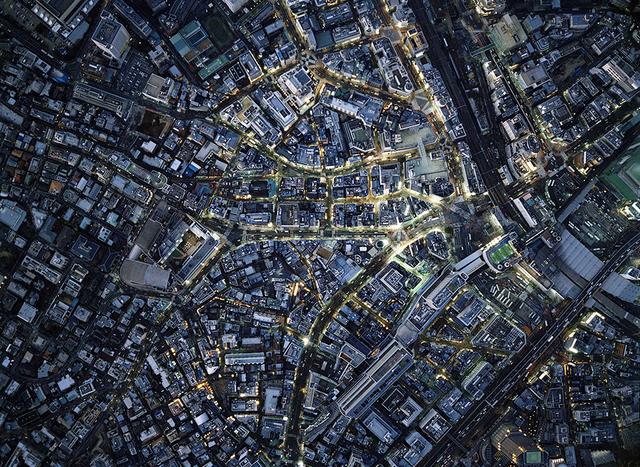 , 'Aerial Views Line Shibuya,' 2013, aQur Gallery