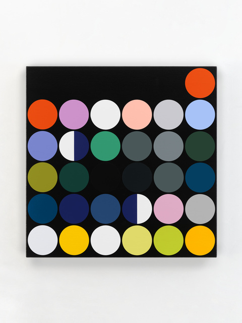 """Sarah Morris, '""""October 2020""""', 2020, Painting, Household gloss paint on canvas, White Cube"""