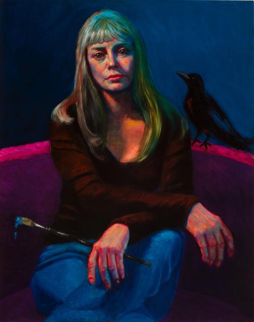 Eddi Fleming, 'Artist and Her Familiar', 2015, Meyerovich Gallery