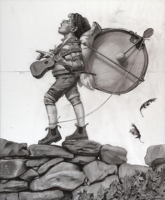 , 'One Man Band (study),' not dated, Somerville Manning Gallery