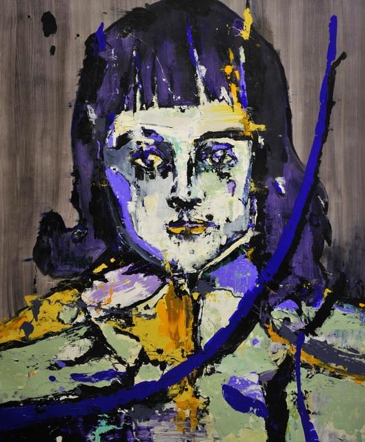, 'Blue Portrait,' 2018, Lachenmann Art