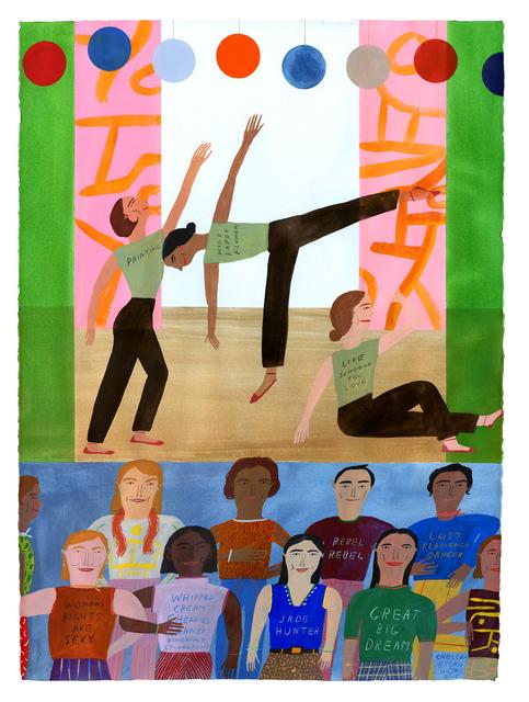 , 'Whipped Cream, Ballet ,' 2019, ZINC contemporary