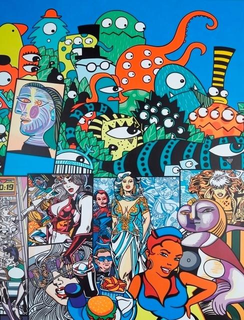 , 'Octopus,' 2000, Galerie Ernst Hilger