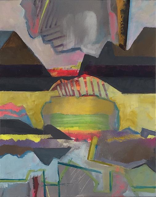, 'Sun Dog 5 Horizontal Drift and Float,' 2018, John Davis Gallery