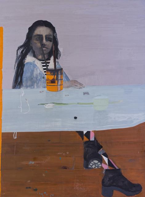 , 'Reflection as Painter,' 2019, Nancy Margolis Gallery