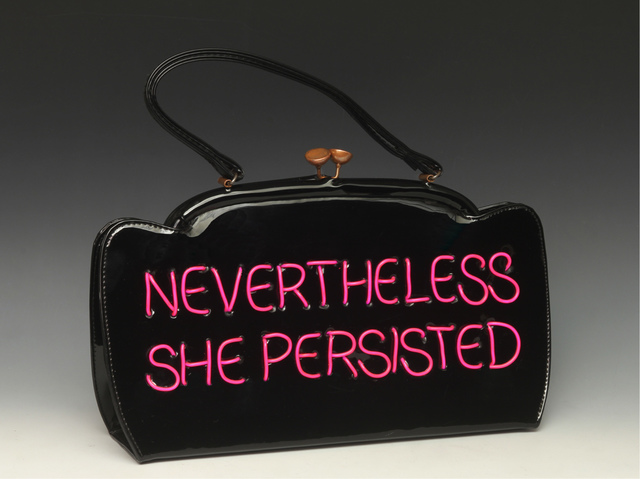 Michele Pred, 'Nevertheless She Persisted', 2017, Nancy Hoffman Gallery