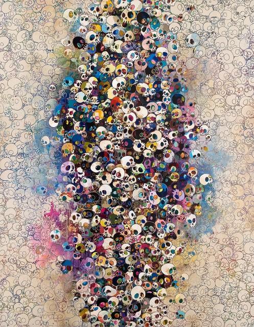 Takashi Murakami, 'Who's Afraid Of Red, Yellow, Blue And Death', 2010, Gagosian