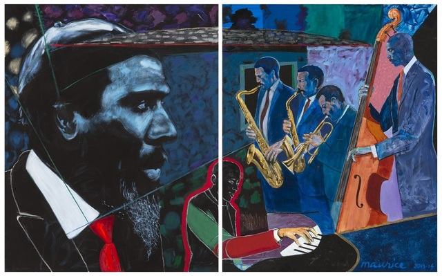 , 'Monk's Mood (diptych),' , Gerald Peters Contemporary