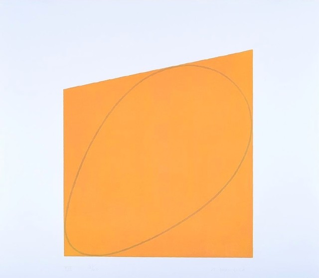 Robert Mangold, 'Attic Series II: VII', 1991, michael lisi / contemporary art