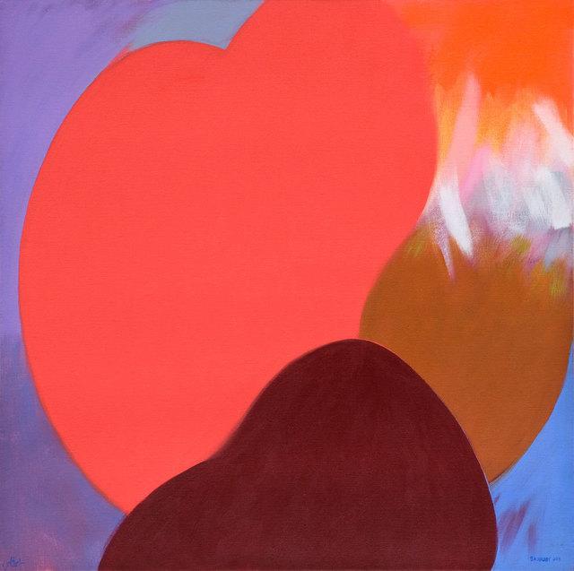 , 'Red Moon ,' 2015, Ayyam Gallery
