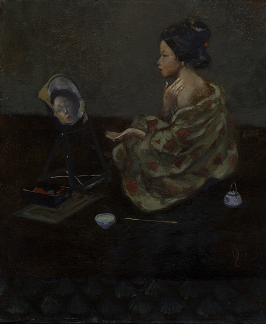 , 'Geisha With Mirror,' ca. 2000, Helikon Gallery & Studios