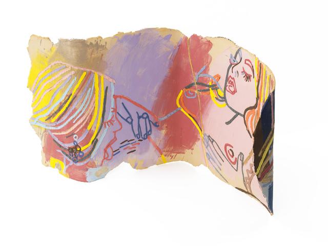 , 'A Golden Scar,' 2015, KEWENIG