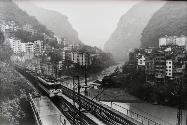 , 'The Neijiang Kunming Railroad Extending Through the County Town Underground, Yanjin,' 2007, PDNB Gallery