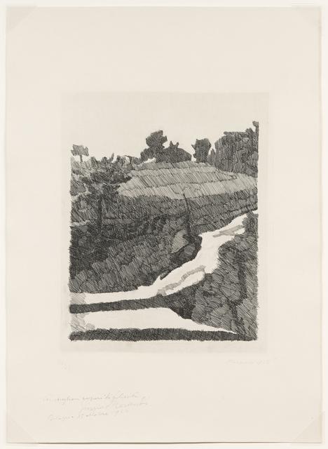 Giorgio Morandi, 'Paesaggio Di Grizzana, 1932 (Vitali 96)', 1932, DICKINSON