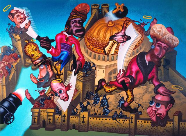 , 'Fall of Constantinople (1453 A.D.),' 2004, Gary Tatintsian Gallery