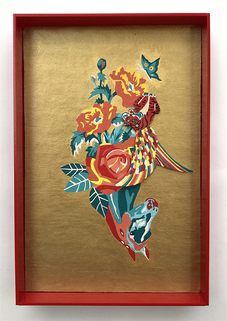 Erica Rosenfeld, 'HORSE-FLOWERS II', 2018, Heller Gallery