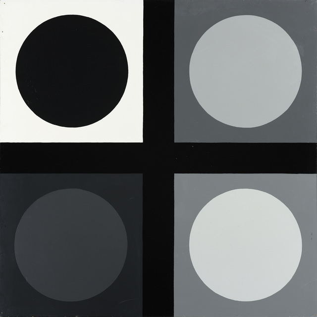 , 'Untitled (tic tac toe painting),' 1966-1967, Galleri Nicolai Wallner