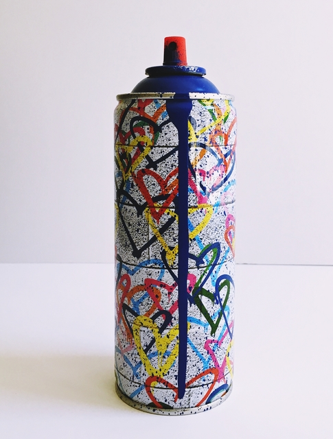 , 'Heart Spray Can (Dark Blue) ,' 2017, Alpha 137 Gallery