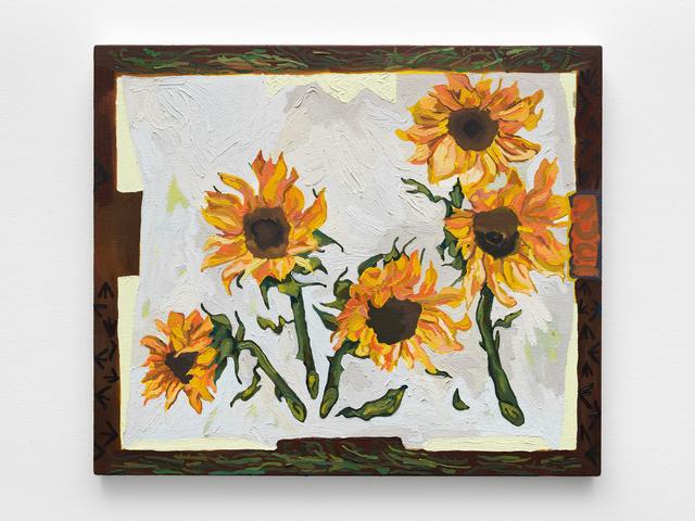 , 'Sunflowers,' 2019, MARTOS GALLERY