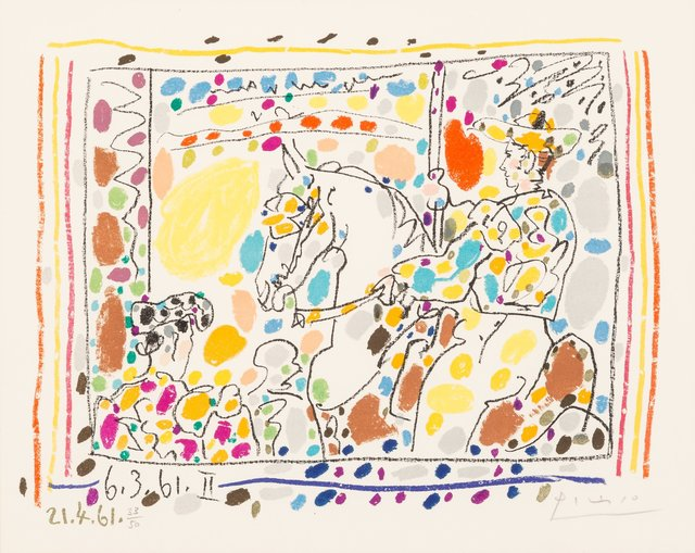 Pablo Picasso, 'Le Picador II', 1961, Heritage Auctions