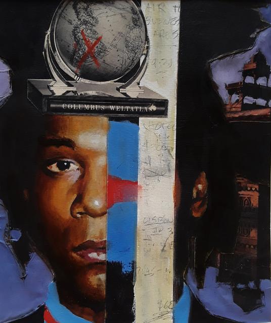 , 'Basquiats Travel,' 2018, StolenSpace Gallery