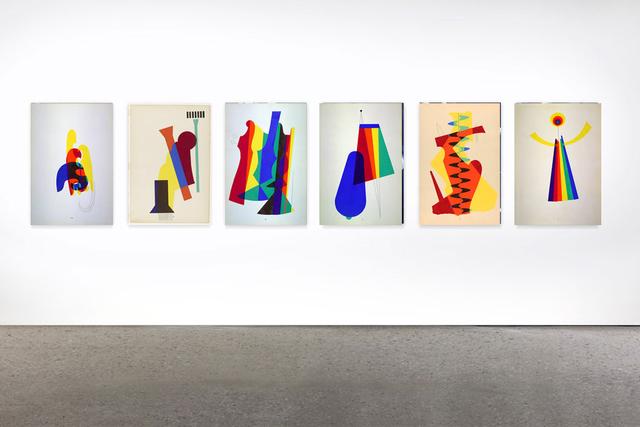 , 'Revolving Doors,' 1972, Galerie Eva Meyer