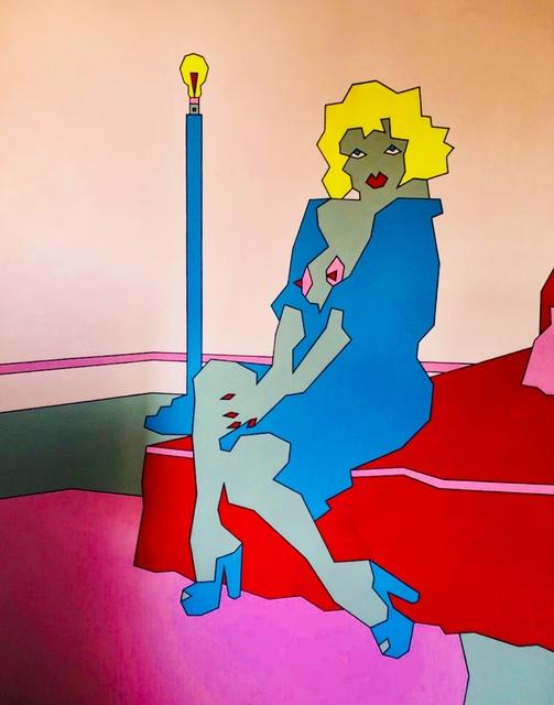 Duggie Fields, 'Bare Bulb', ca. 1970, The Missing Plinth