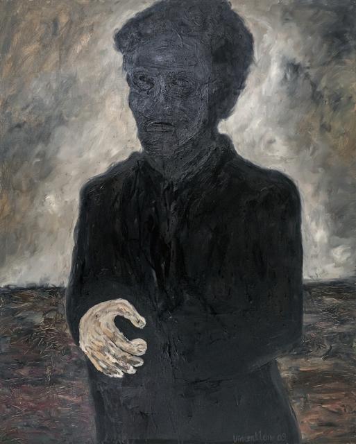 , 'Portrait and Hand,' 2009, iPreciation