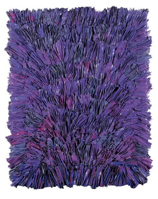 """, '""""Violett Twister"""",' 2017, Galerie Bei Der Albertina Zetter"""