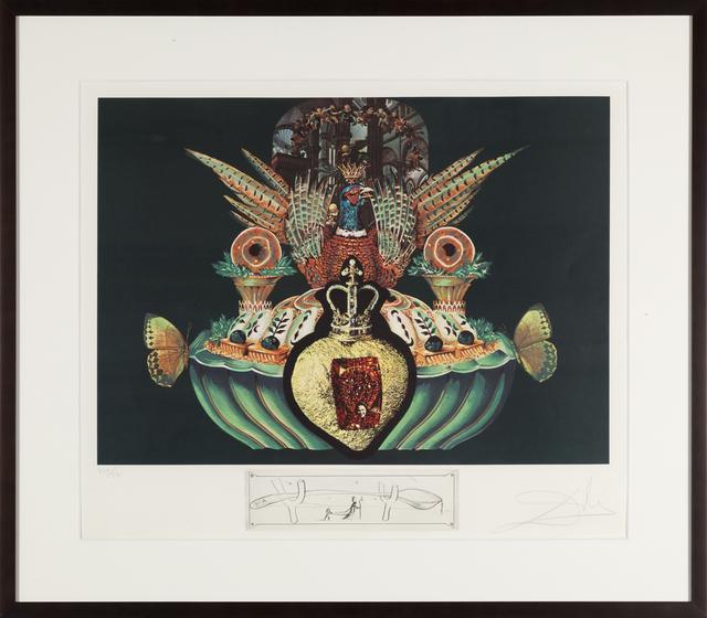 Salvador Dalí, 'Monarchial Flesh Tone (Les Chairs Monarchiques)', 1971, Heather James Fine Art Gallery Auction