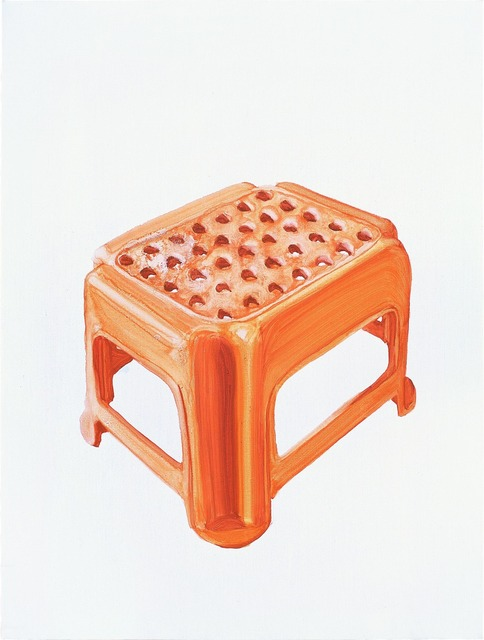 , 'Orange Plastic Stool No.1,' 2009, Chambers Fine Art