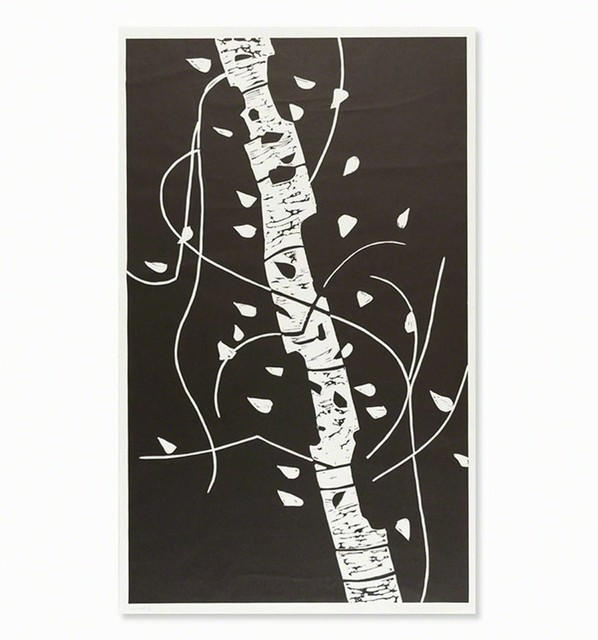 Alex Katz, 'Large Birch', 2005, MLTPL