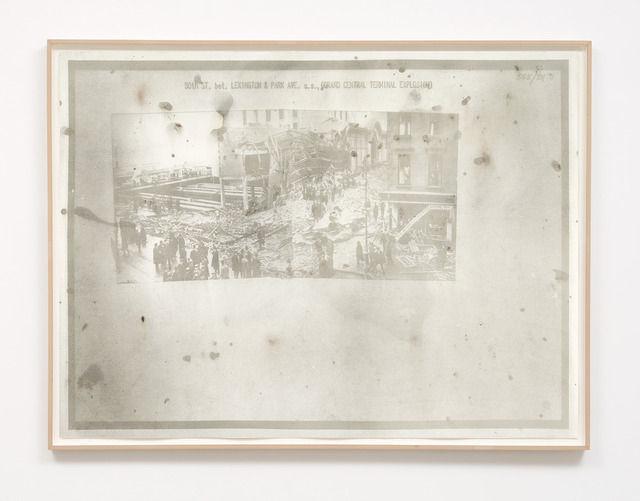 , '713447Fu1, Manhattan: 500 St. - Lexington Ave, 1910,' 2010, Burning in Water