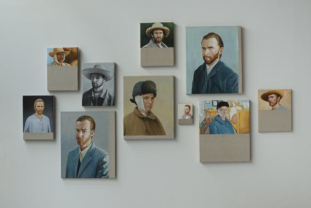 , 'Chinese Whisper - Neue Malerei (Van Gogh I-X) Version I,' 2016, joségarcía ,mx