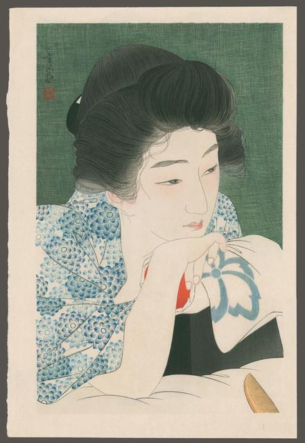 , 'Morning Hair,' 1930, The Art of Japan