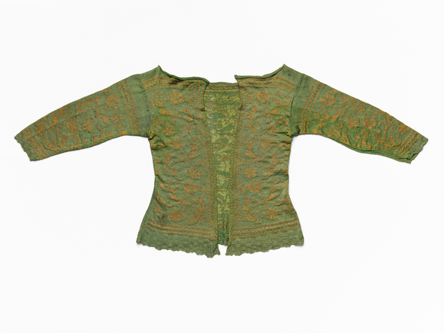 'Woman's knitted jacket', 1630-1650, RISD Museum
