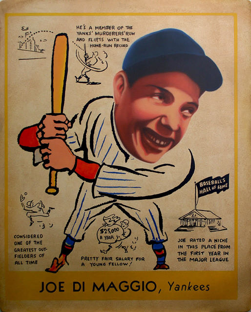 , '1938 Goudey - Joe Di Maggio,' 2017, Axiom Contemporary