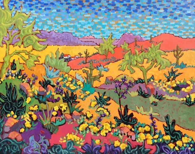 """, '""""Wildflower Explosion"""" ,' 2016, Bonner David Galleries"""