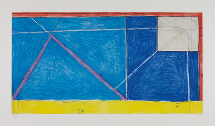 Richard Diebenkorn, 'Red-Yellow-Blue,' 1986, Phillips: Evening and Day Editions (October 2016)