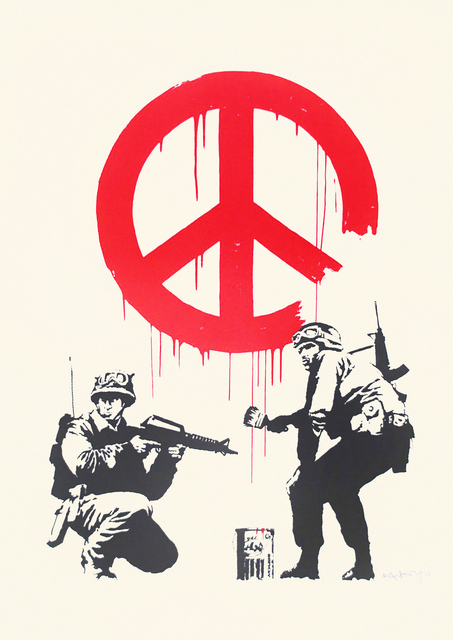 Banksy, 'CND Soldiers', 2005, Tate Ward Auctions