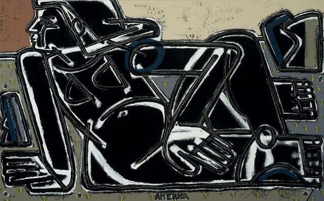 , 'Woman & Black Rocks,' , Joanne Artman Gallery
