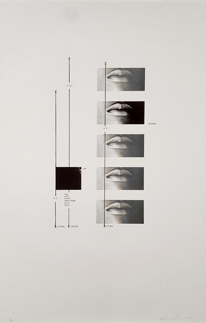 , 'Untitled,' 1992, Brooke Alexander, Inc.