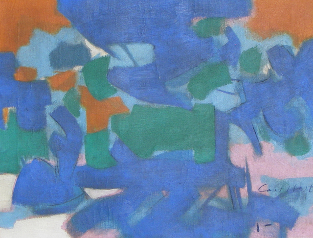 Carl Holty, 'Untitled Abstraction', ca. 1955, Caldwell Gallery Hudson
