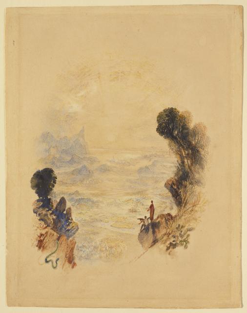 J. M. W. Turner, 'The Temptation of Christ on the Mountain', ca. 1834, Clark Art Institute
