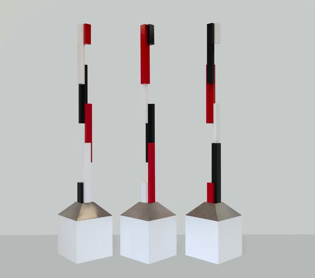 , 'Broken Colmn: a triptych 2018:1,' 2018, Charles Nodrum Gallery