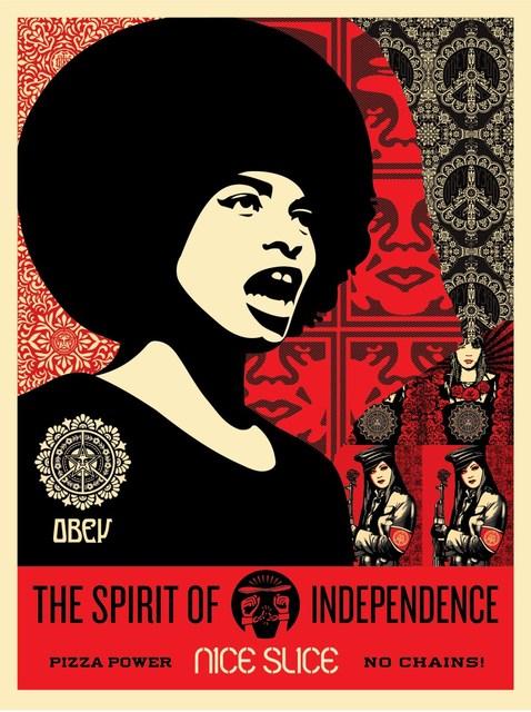 Shepard Fairey (OBEY), 'Spirit of Independence', 2017, Rudolf Budja Gallery