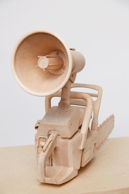 Roxy Paine, 'Speech Impediment', 2014, Sculpture, Maple wood, Kavi Gupta