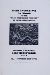Engravings for 'The Music from Behind the Moon' by James Branch Cabell