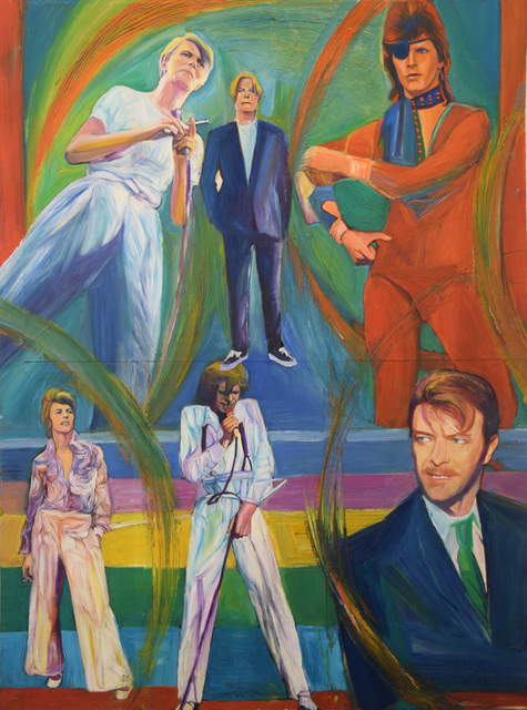 , 'David Bowie Through the Years,' 2010, Fountain House Gallery