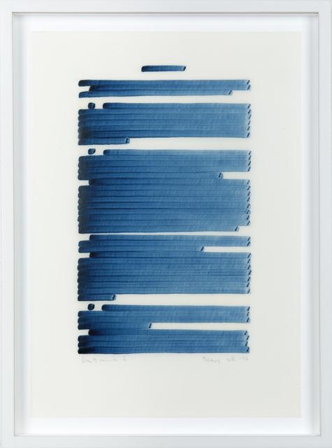 Irma Blank, 'Denkmuster 2', 1996, Galerija Gregor Podnar
